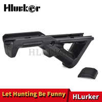 Hunting Airsoft Accessories Tactical AR15 M4 Air Paintball Triangle Grip Gun Handle Fit 20mm Picatinny Rail Keymod Handguard