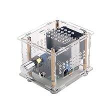 Tda7297 デジタルアンプボード 15 ワット + 15 ワットハイファイ 2.0 デュアルチャネルボードミニ本棚ボックス