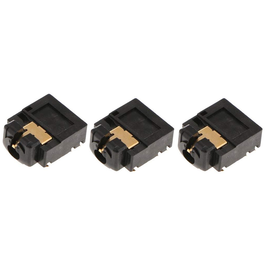 Buy 3Pcs Replacement 3.5mm Port Headphone Jack Socket Repair For Xbox One Controller, Black for only 2 USD