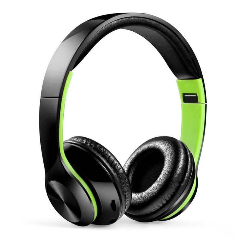 Portable Headphones Wireless Bluetooth Foldable Headset Stereo Hd Hifi Sounds Surrounding Devices With Mic Hands free Calling-in Bluetooth Earphones & Headphones from Consumer Electronics