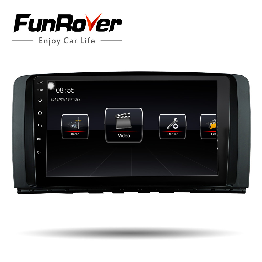 Funrover android 8.0 car radio multimedia 2 din car dvd player For Mercedes/Benz/AMG R Class W251 R280 R300 R350 R63 gps usb rdsFunrover android 8.0 car radio multimedia 2 din car dvd player For Mercedes/Benz/AMG R Class W251 R280 R300 R350 R63 gps usb rds