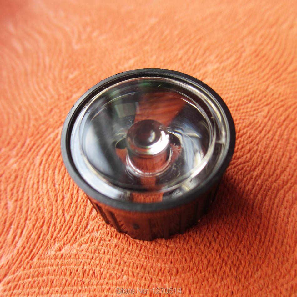 10 шт./лот светодиодный поверхности объектива составляет 5 8 10 15 25 30 45 60 90 120 градусов 20 мм + крышка объектива Держатель 1 Вт 3 Вт светодиодный объектив СВЕТОДИОДНЫЙ PMMA гладкая линза