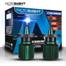 NOVSIGHT Mini Car Led Headlights h4 h7 h11 h8 9005 9006 led headlight bulbs set 40W 10000LM 6500K White Super Bright car Light(China)