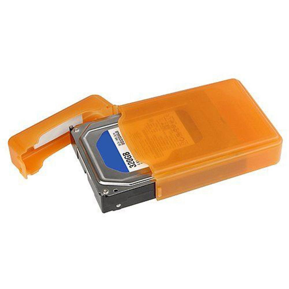 Wholesale New 3.5 Inch Dustproof Protection Box for SATA IDE HDD Hard Disk Drive Storage Case(China)