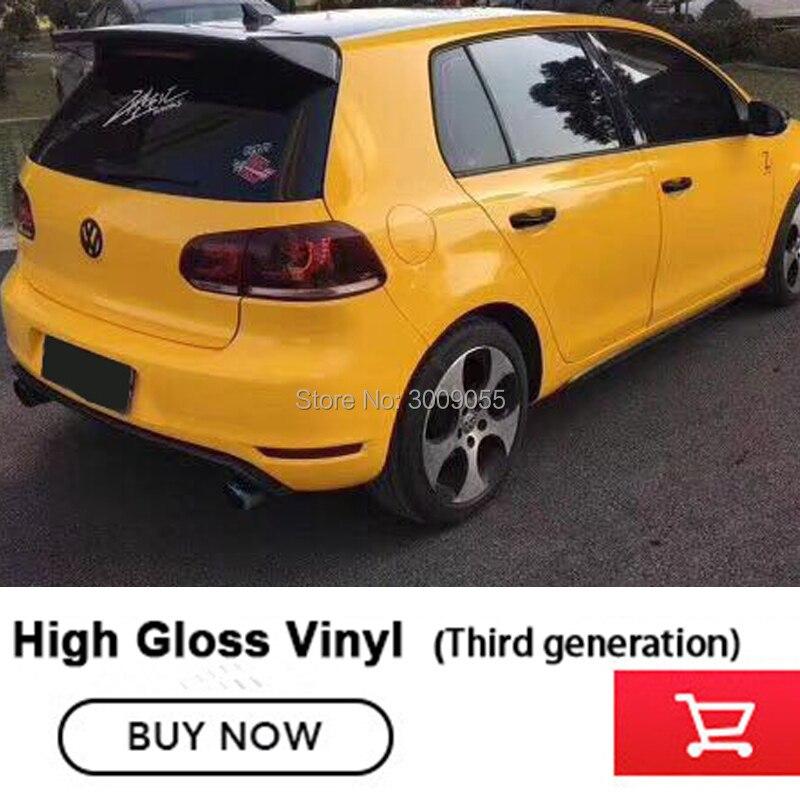 Glossy Vinyl Film Wrap car wrap vinyl vinilo glossy car wrap vinyl Bubble free car vinyl