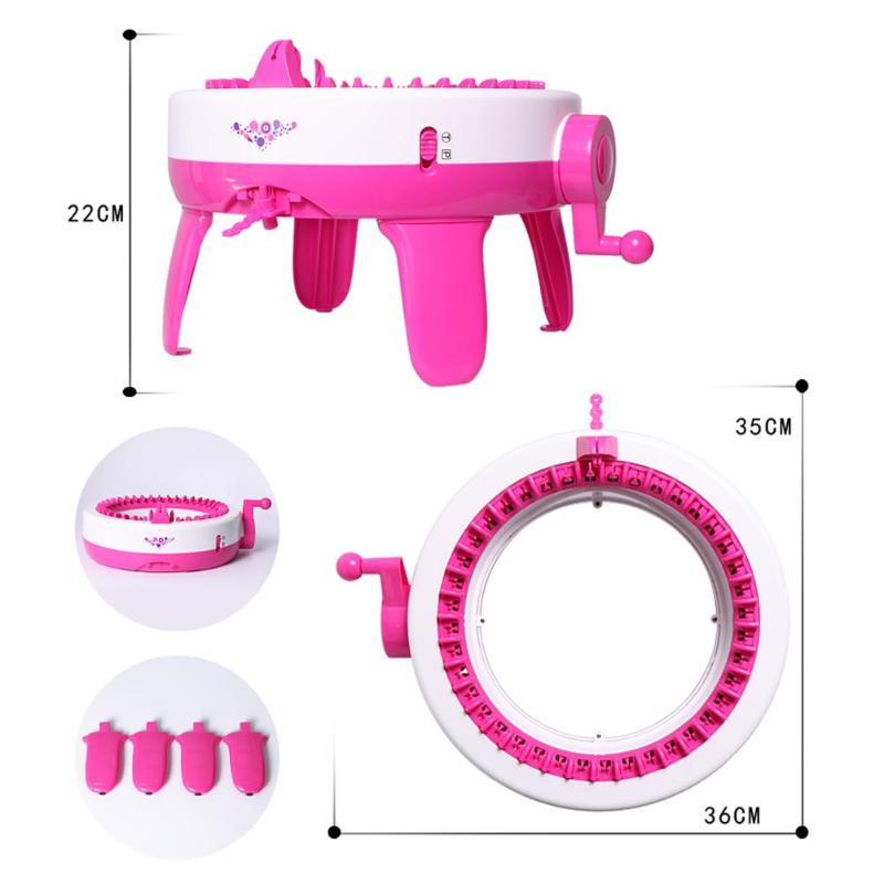 DIY Apparel Sewing Tools Knitting Machine Toy Positions Big Hand Weaving Loom knitting Tools for Scraf Hat Dropshipping in Sewing Tools Accessory from Home Garden