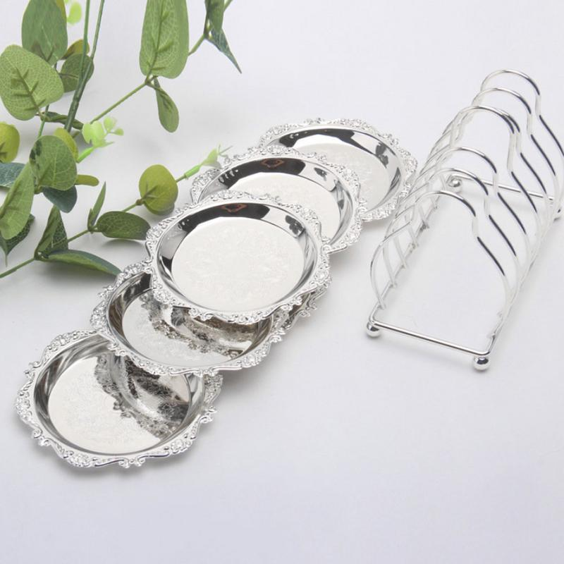 2 Set Modern Cake Stands Round Cake Stand Cupcake Stands For Baby Shower Wedding Birthday Party Celebration in Dishes Plates from Home Garden