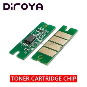 8PCS C360H 7K/5K toner cartridge chip For ricoh Aficio SP C360 C361 C360DN C361SF SPC360DN SPC361 SPC361DNW printer powder reset