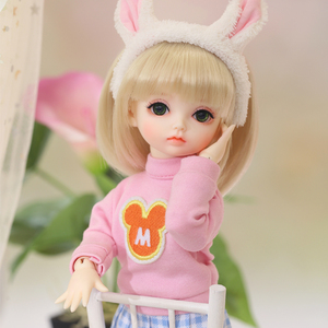 Image 4 - OUENEIFS Hebbe BJD YOSD Doll 1/6  Body Model Baby Girls Boys High Quality Toys Shop Resin Figures