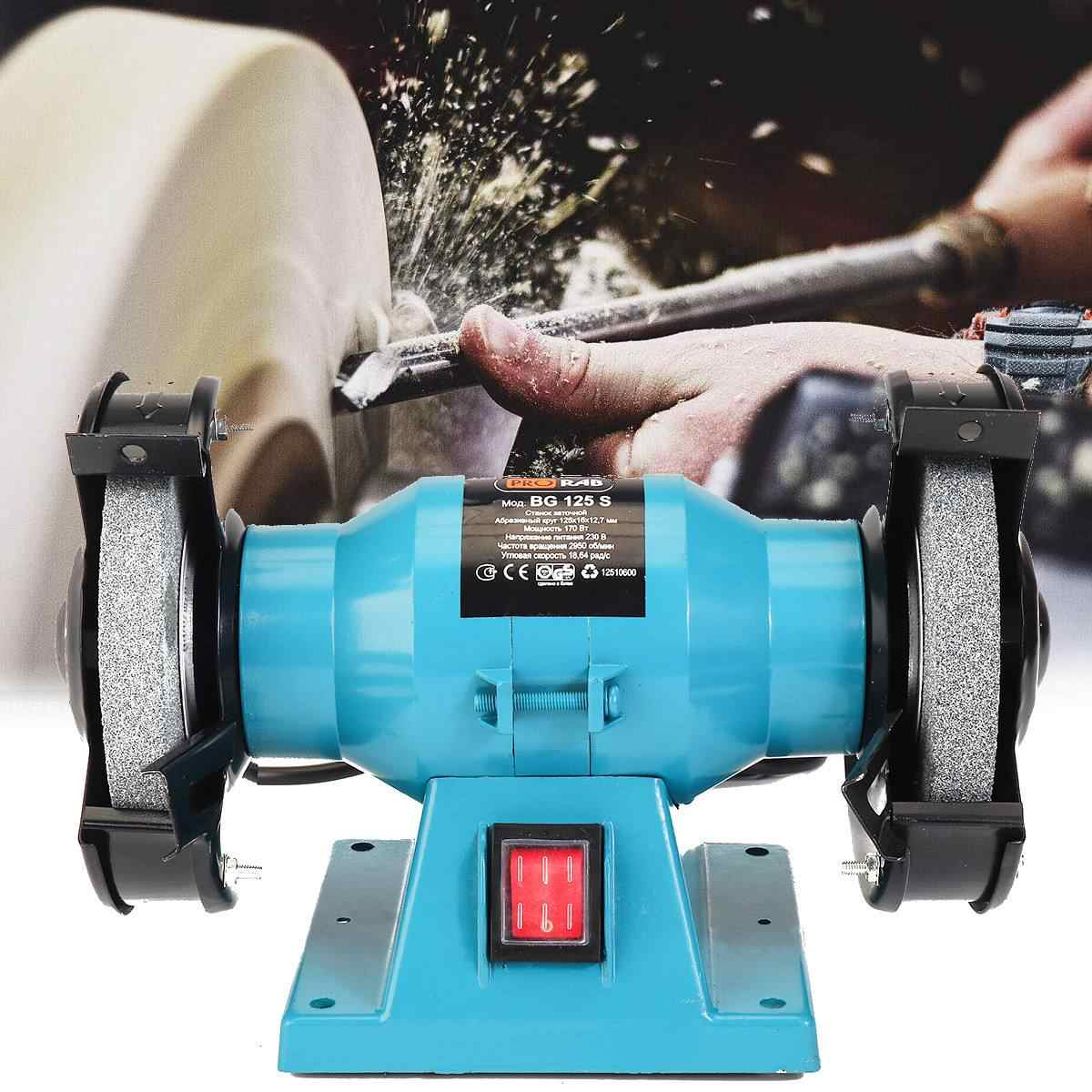 170W 220V Professional Electric Knife Sharpener BenchGrinder Polishing Machine Tools Multifunction Power Tools Home Kitchen