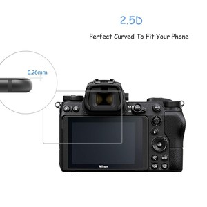 Image 3 - 2.5D 9H Vetro Temperato per Nikon COOLPIX Z7 Z6 Z50 P950 D6 D780 D7500 D7200 D7100 D850 D3500 Digitale della macchina fotografica Anti Graffi la Pellicola