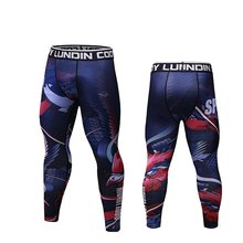 Men Compression Pants Leggings Tights Skinny Pants Male Running Jogging Fitness Gym Workout Athletic Pants Trousers