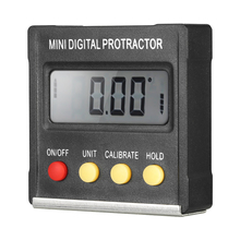 Multifunctional Mini Digital Inclinometer Level Electronic Protractor Angle Ruler Measurment Gauge Meter Finder with Magnet