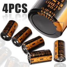 4 шт. Замена электролитический конденсатор с алюминиевой крышкой для ELNA аудио с алюминиевой крышкой, 63В 10000 мкФ 30*50 мм Высокое качество