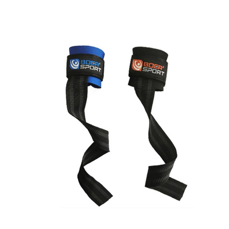 1 Pair Weight Lifting Hand Bar Grips Straps Wrist Support: 1 Pair Weightlifting Hand Pad Wrist Wraps Straps Gloves
