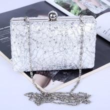 Luxury Lace Clutch evening bags Purse Mini Evening Bags women handbag Casual fashion crossbody For Wedding Party.