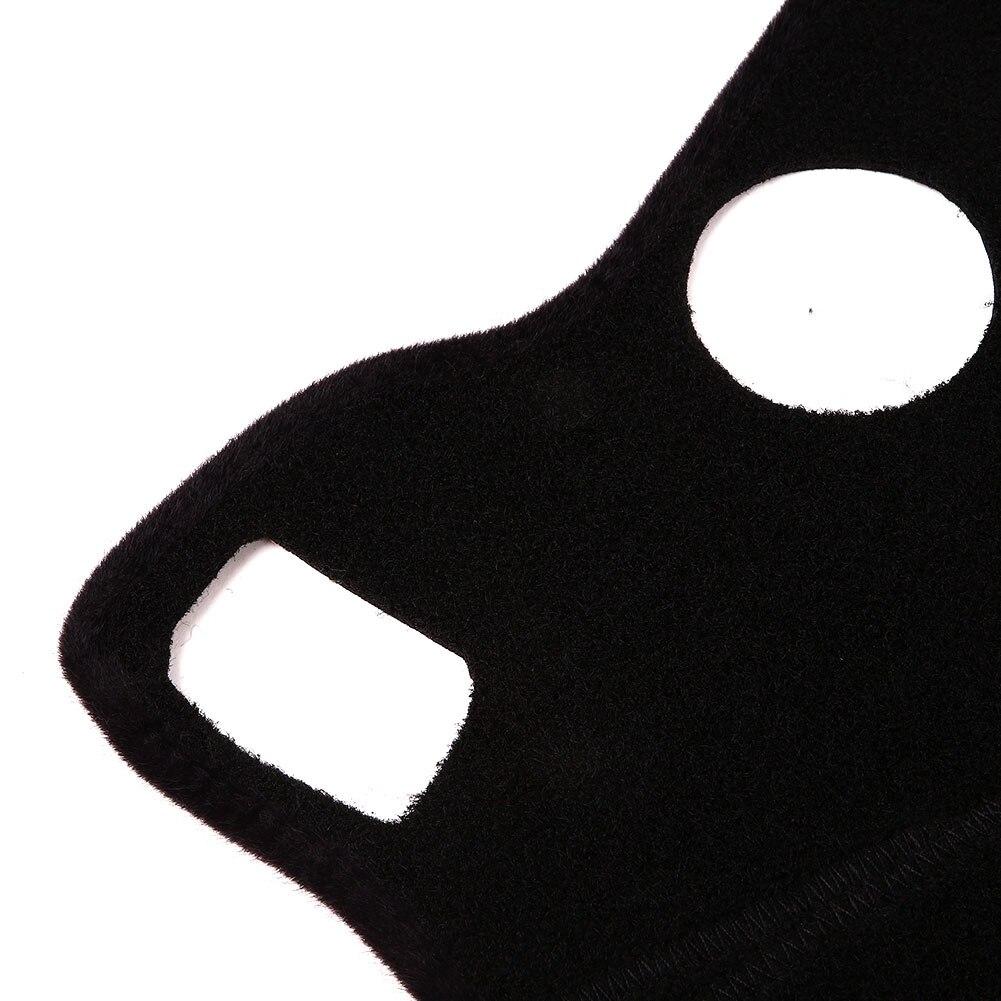 Vehemo силиконовый Слип Войлок Ткань приборная панель коврик приборная панель Крышка коврик черный тире части авто Интерьер Солнцезащитная Накладка для машины коврик