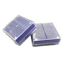 2 шт многоразовые Силикагель Осушитель влагопоглощающие бусины коробка(синий