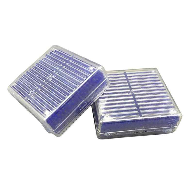 2 шт многоразовый осушитель влагопоглощающий бисер коробка (синий)