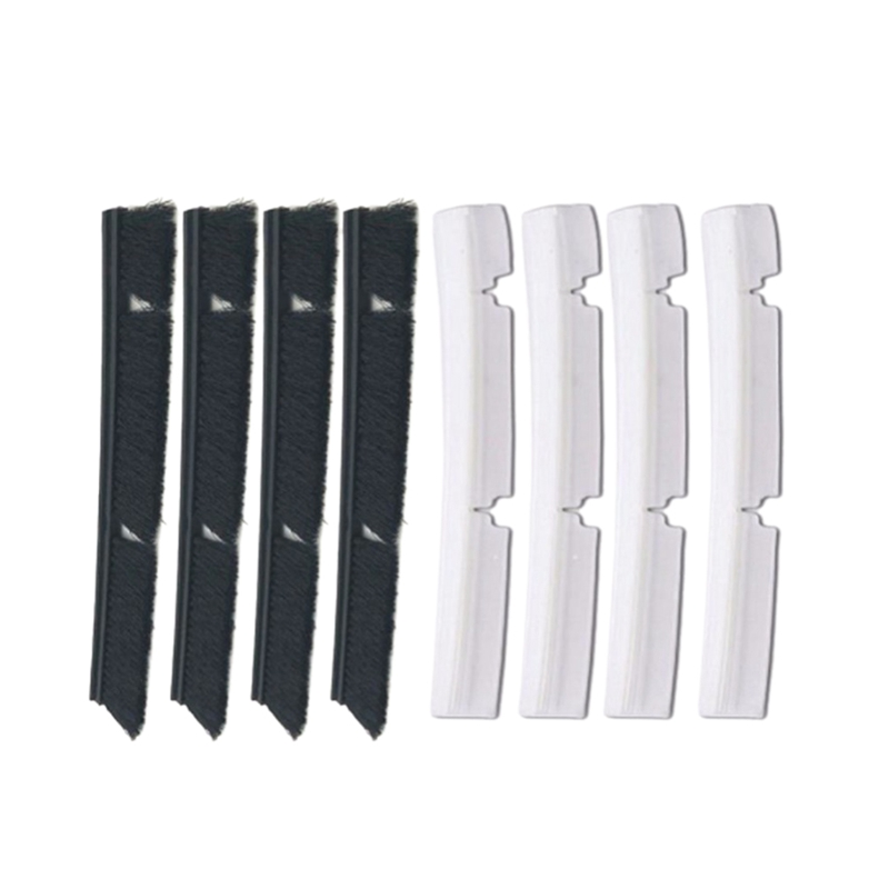 4xSilicone Blades+4xBrushes Replacement for Neato Botvac 70e 75 80 85 all D-Series Connected Vacuum Cleaner Parts accessories4xSilicone Blades+4xBrushes Replacement for Neato Botvac 70e 75 80 85 all D-Series Connected Vacuum Cleaner Parts accessories