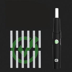Image 5 - Leyiken Geometrie H1 Kit Warmte Niet Branden Vape Pen Voor Verwarming Tabak Droge Kruid Ingebouwde 650Mah Stok Pen Elektronische sigaret Kit