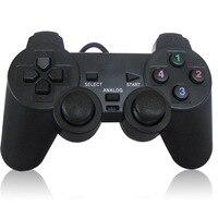 Controle de jogos usb com fio  joystick para computador portátil  controle de jogos