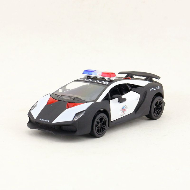 Kinsmart Diecast Metal Model 1 38 Scale Sesto Elemento Police Toy