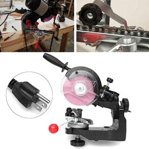 Image 5 - Large grinding wheels Saw Chain Grinder Electric Chainsaw Sharpener 230W 3600RPM for Bench Chainsaw Sharpener AU/UK/EU/US plug