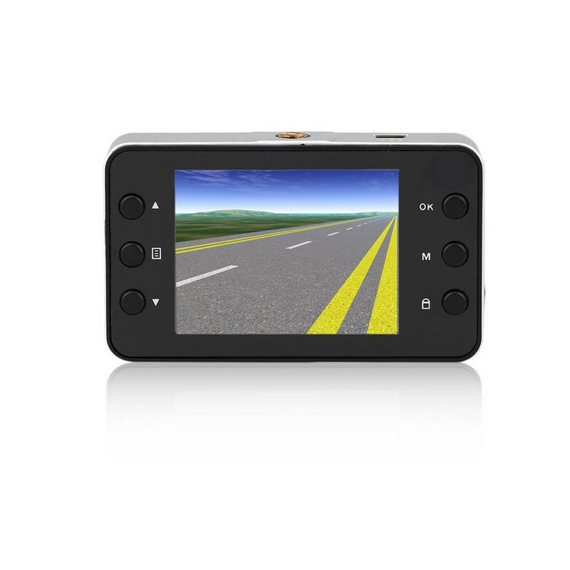 <font><b>K6000</b></font> Auto Tachograph <font><b>Car</b></font> Camera <font><b>DVR</b></font> Camcorder Video Recorder G-sensor Full HD 1080P High-resolution Ultra-wide-angle Lens image