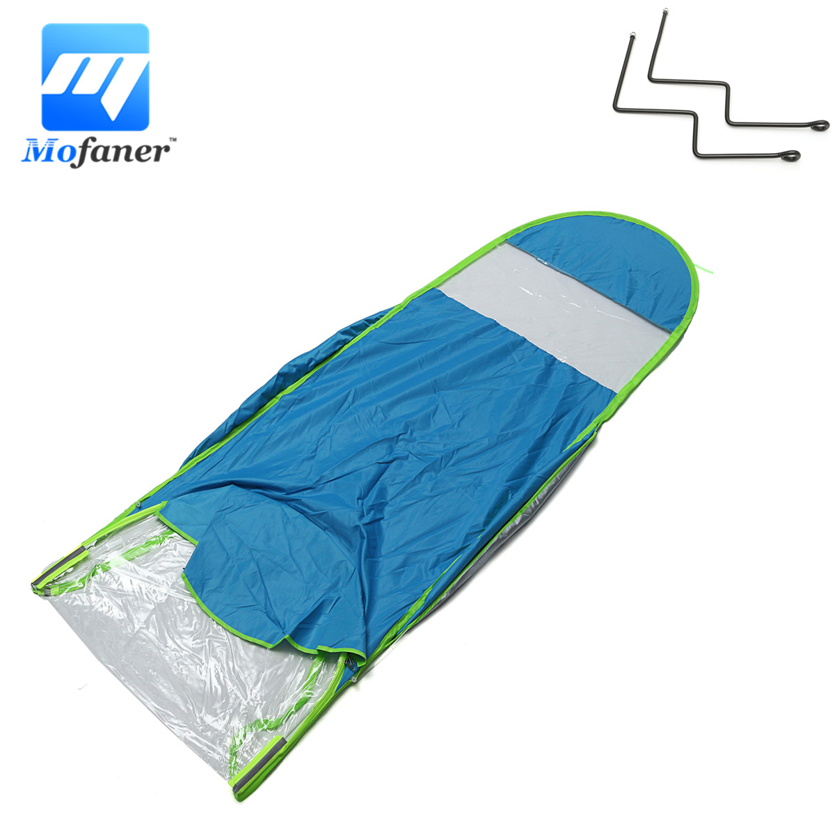 Automobiles & Motorcycles Motorcycle Scooter Cover Motorbike Sun Rain Wind Cover Electric Car Prevent Umbrella Raincoat 2.8*0.8*0.75m