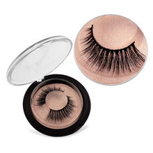 SHIDISHANGPIN Mink eyelashes extension 1 pair 3d mink natural crisscross false full strip lashes