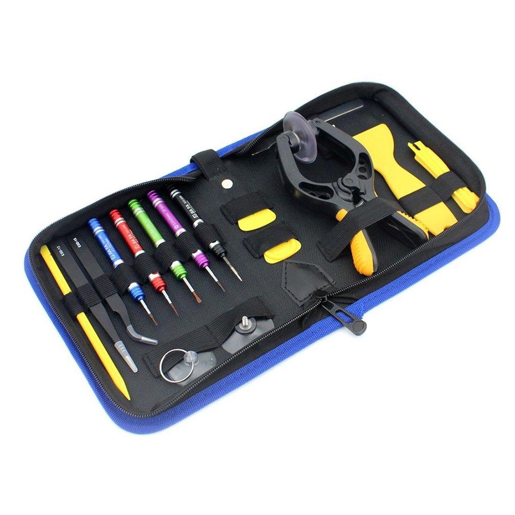 JF 8148 19 in 1 Universal Phone Repair Tool Set with Bag Cell Phone Repair Tool Kits for Phone Repair Tools Phone Repair Tool Sets     - title=
