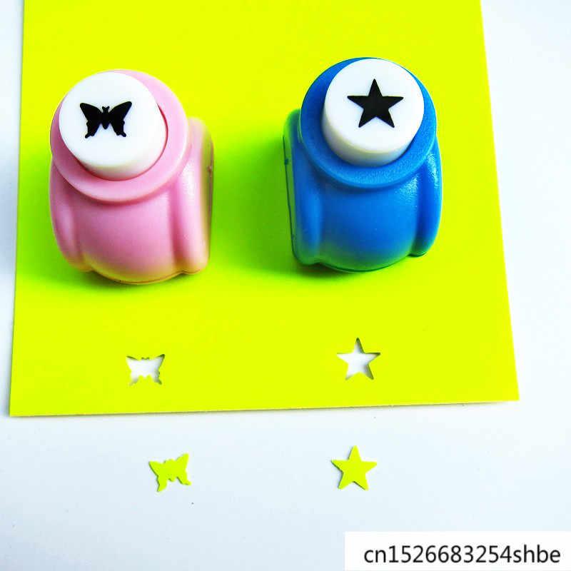1 pièces enfant enfant Mini impression papier main perforateur Scrapbook étiquettes cartes artisanat bricolage poinçon Cutter outil trou poinçon Scrapbooking Papel