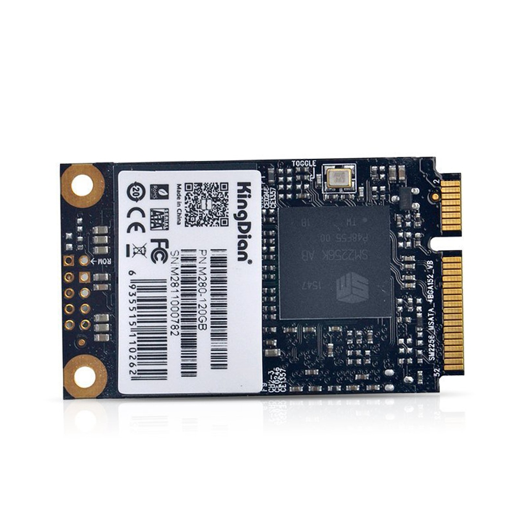 2019 Mode Kingdian Msata Mini Pcie 120 Gb Ssd Solid State Drive (30mm50mm) (m280 120 Gb)