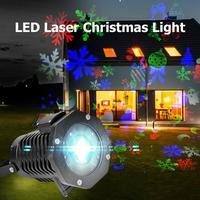 LED Laser Christmas Light Outdoor Waterproof Projector Landscape Decor Lamp
