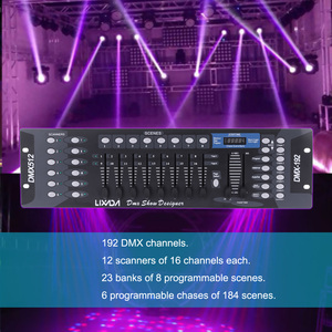 Image 3 - DJ DISCO Light Controller 192 ช่อง DMX512 Controller คอนโซลสำหรับ STAGE PARTY ดิสโก้ใหม่ปีอุปกรณ์