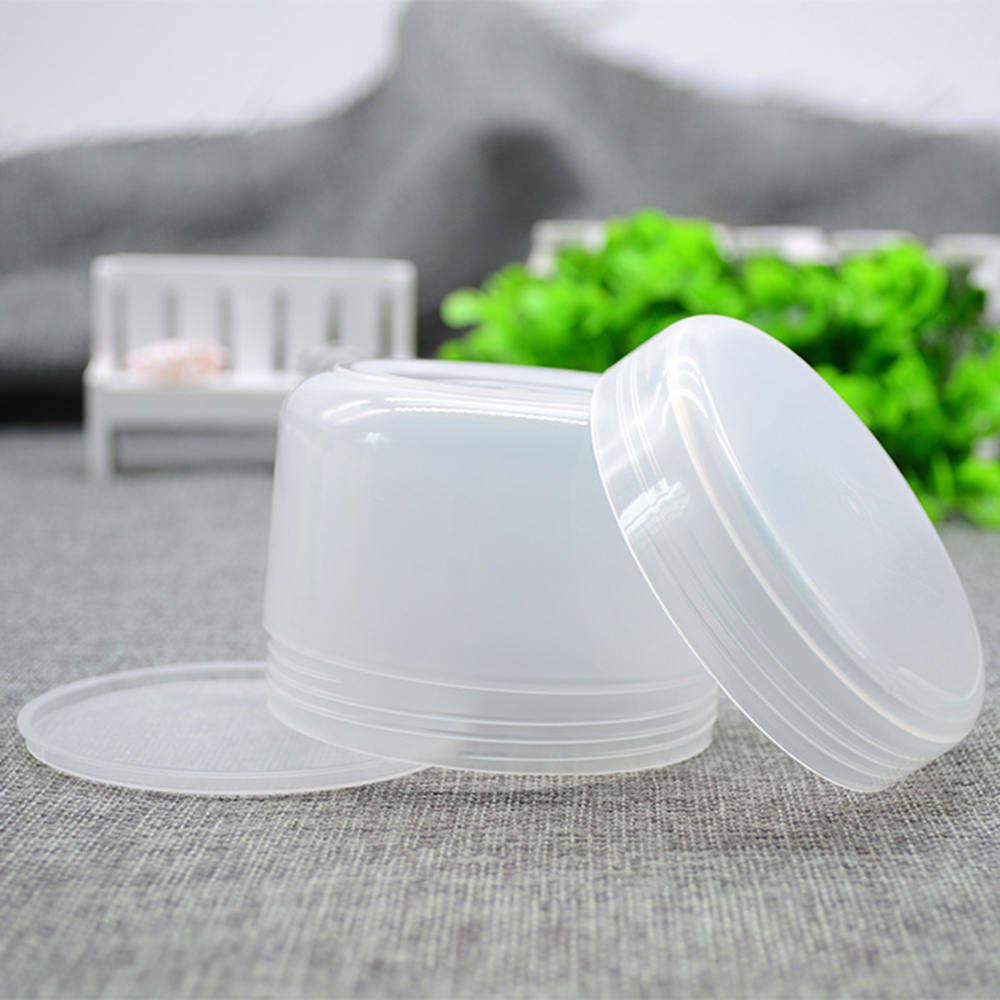 10PCS Refillable Bottles Plastic Empty Makeup Jar Pot Travel Face Cream/Lotion/Cosmetic Container 5 Colors 10g