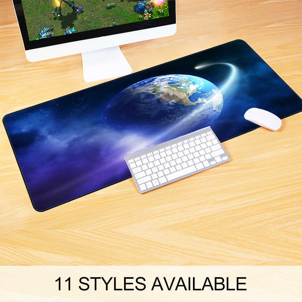 2019 Newest Extra Large Mouse Pad star Gaming Mousepad Anti-slip Natural Rubber Gaming Mouse Mat with locking Edge