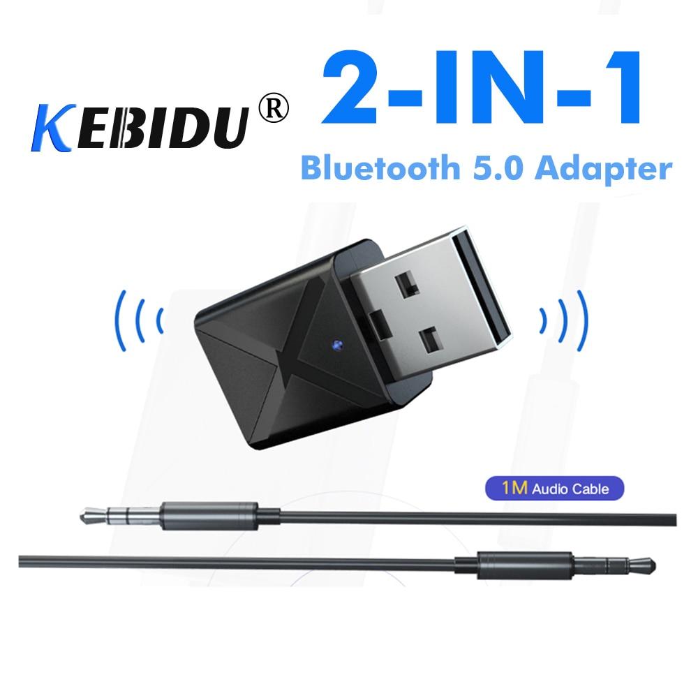 Tragbares Audio & Video ZuverläSsig Kebidu 5,0 Usb Drahtlose Empfänger Sender 2 In 1 Bluetooth Audio Musik Stereo Adapter Dongle Für Tv Pc Lautsprecher Kopfhörer 100% Hochwertige Materialien Funkadapter