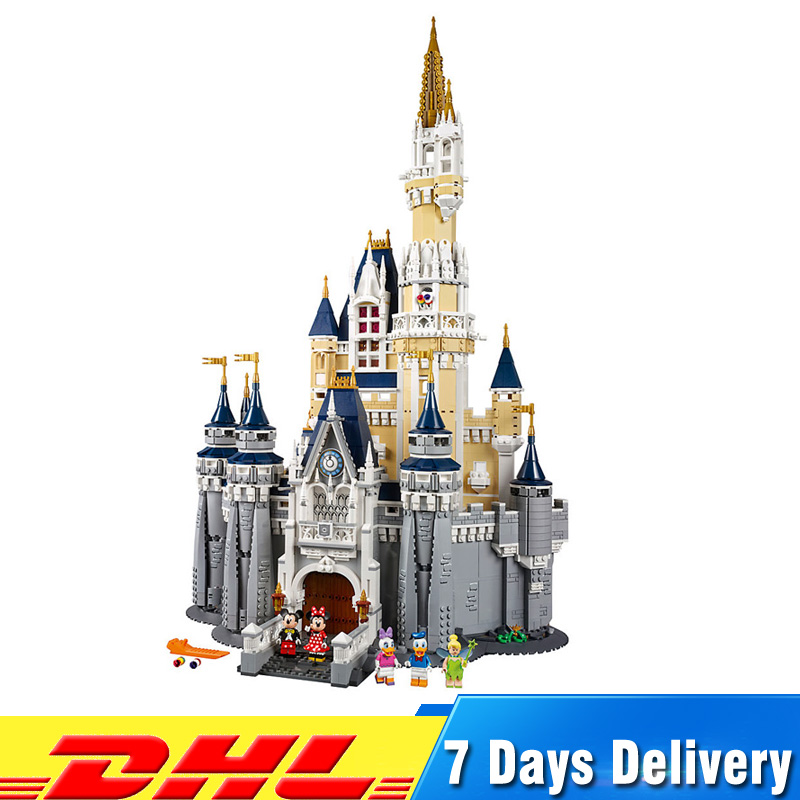 IN Stock 4080pcs Cinderella Princess Castle City Set Model Building Blocks Compatible LegoINGlys 71040 Toys Birthday Gifts