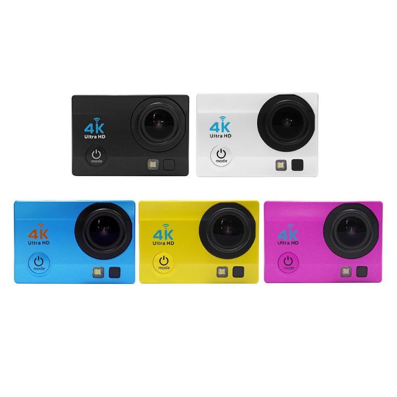 2.0 pouces WiFi 1080 P 4 K Ultra HD caméra d'action 30 m étanche 140 degrés lentille Sport DVR DV caméscope USB2.0