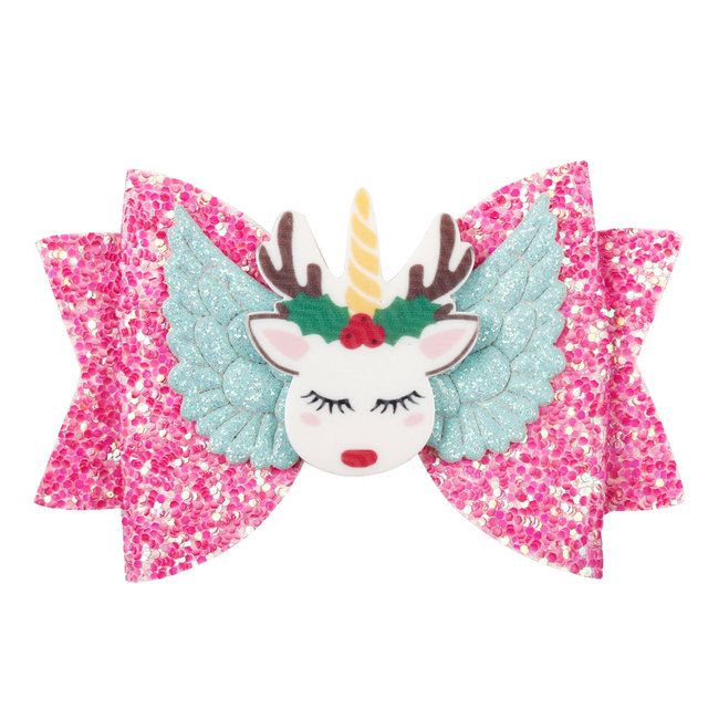 Cute Unicorn Hairpins Princess Hair Accessory