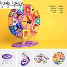 Vavis Tovey Children's educational toys DIY Variety assembling magnetic pieces magnetic building blocks vavis tovey variety of assembling building blocks children s magnetic piece educational toys gifts for children