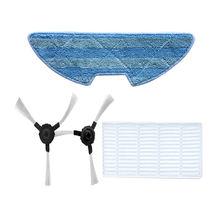 SANQ для Proscenic 811 Gb/911Se части пылесоса фильтр+ Швабра Ткань+ боковые щетки
