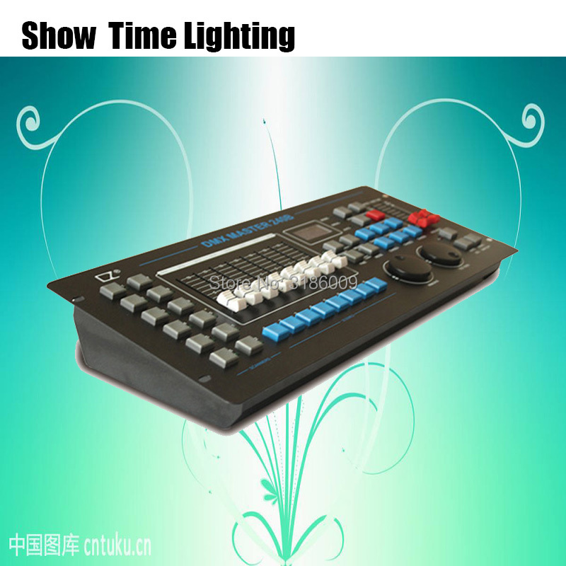 Professional Stage Lighting Console 240B DMX Master Controller DJ Equipment DMX 512 Console For LED Par Moving Head Show timeProfessional Stage Lighting Console 240B DMX Master Controller DJ Equipment DMX 512 Console For LED Par Moving Head Show time
