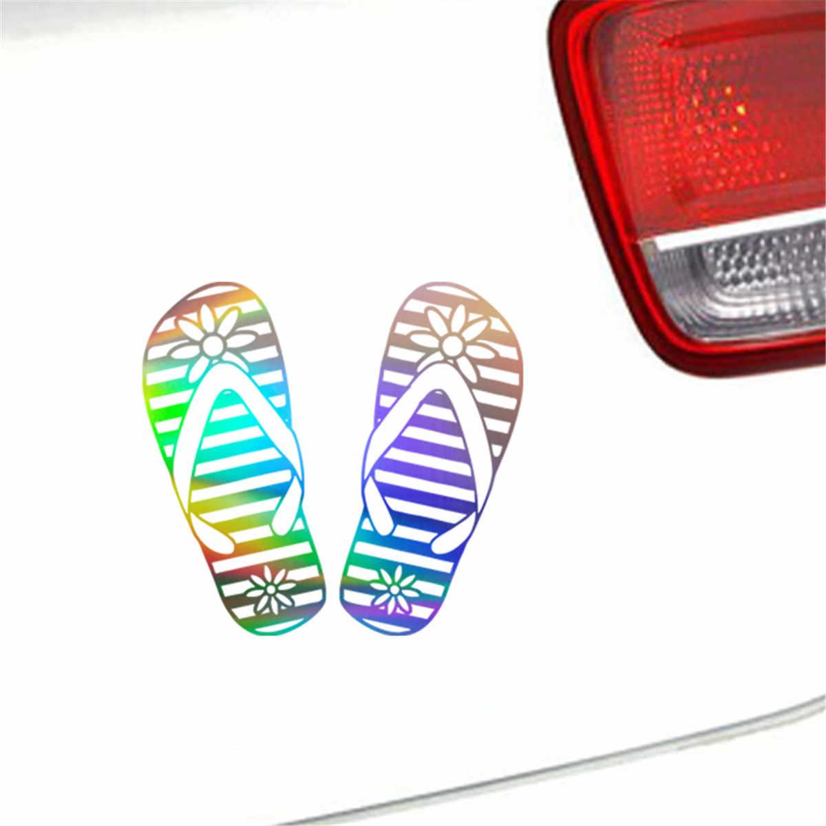 ... Thongs Flip Flops Car Wall Home Glass Window Door Car Sticker Laptop  Auto Truck Home Black ... fe0045d31f5d