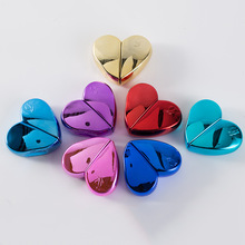 Fashion 25ml Heart Shaped Glass Bottles With Spray Portable Refillable Parfum Bottle Empty Perfume Atomizer For Women