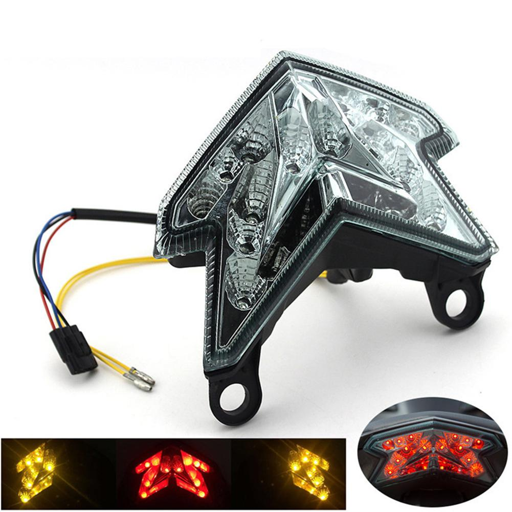 Part Shop Glow Tail Lights: LumiParty LED Lights Motorcycle Tail Light Turn Signal
