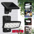 5 в 10 LED водонепроницаемый Солнечный датчик светодиодные настенные лампы прожектора наружная садовая Лампа безопасности ABS Materail