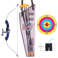 Children Outdoor Shooting Sports Toy Kit Emulational Bow and Arrow Set for Kids 9922 19